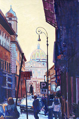 Painting - St. Peters by David Randall