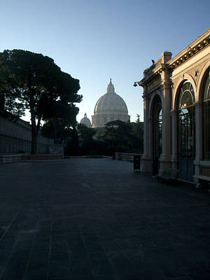 Church Photograph - St. Peter's From The Back by Jim Barbour