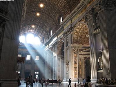 St Peters In The Morning Art Print by Karin Thue