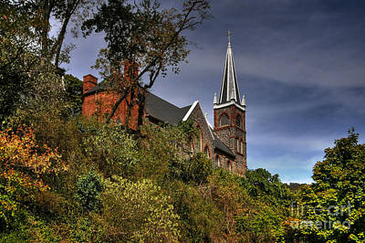 Harpers Ferry Photograph - St. Peter's Of Harpers Ferry by Lois Bryan