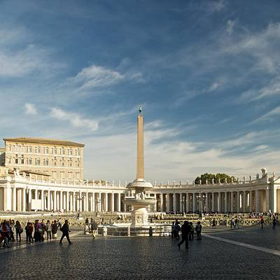 Photograph - St Peters Square by Stephen Taylor