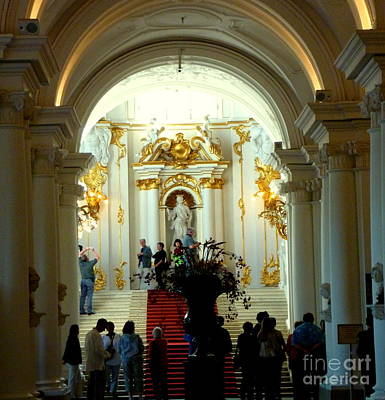 Photograph - St Petersburg Hermitage by John Potts