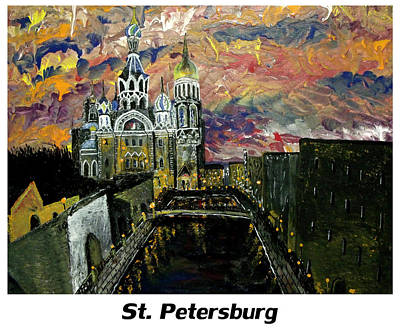 Cia Painting - St  Petersburg by Mark Moore
