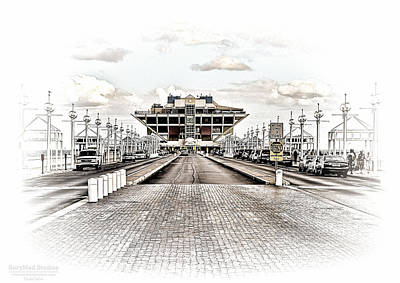St. Petersburg Pier Dec 2011  Art Print