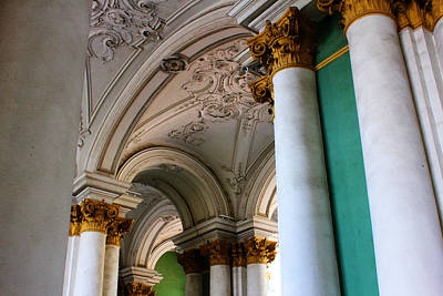 Photograph - St. Petersburg Winter Palace by Gina  Zhidov