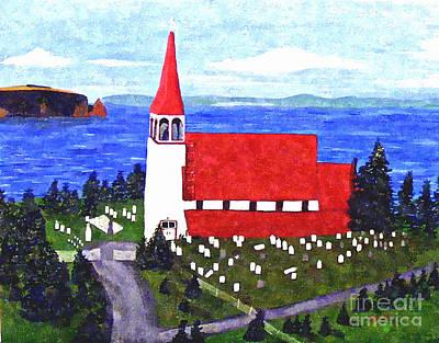 St. Philip's Church Art Print by Barbara Griffin