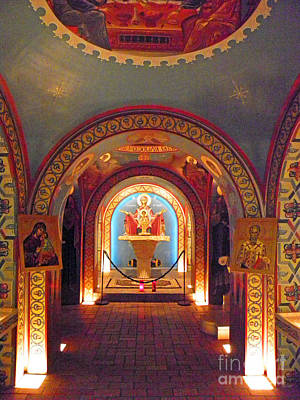 Photograph - St Photios Greek Shrine by Elizabeth Hoskinson