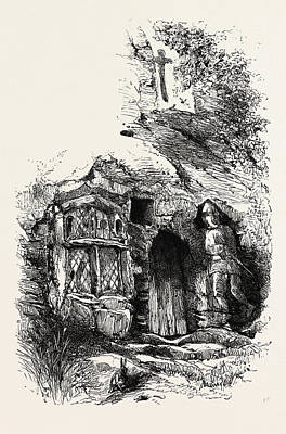St. Roberts Chapel, Knaresborough, Uk, Britain Art Print