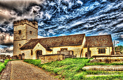 St Sannans Church Bedwellty Art Print