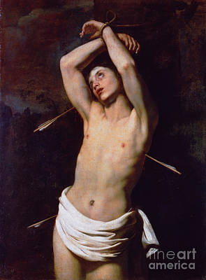 Torah Drawing - St Sebastian by Celestial Images