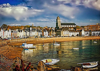 Photograph - Saint Servan Anse by Elf EVANS