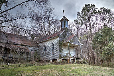 Photograph - St. Simon's Church by Charles Hite