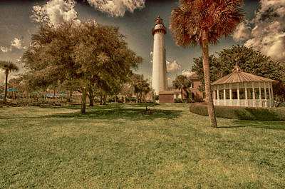St. Simon's Island Lighthouse Art Print