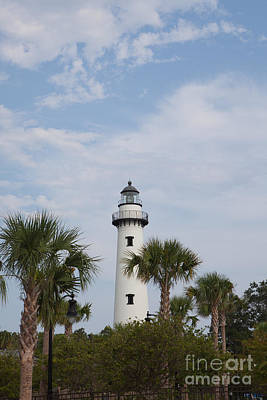 Photograph - St. Simons Island Lighthouse by Kay Pickens