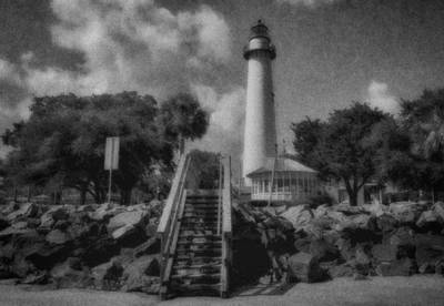 St. Simon's Lighthouse 3 Art Print