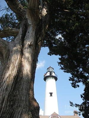 Photograph - St. Simon's Lighthouse by Gretchen Allen