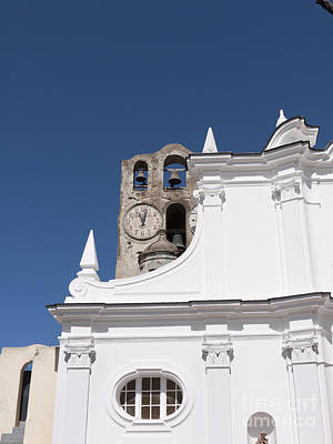 Photograph - St Sofia Church In Anacapri by Brenda Kean