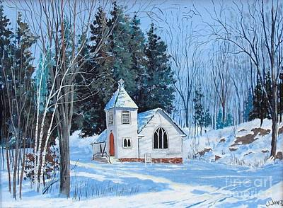 St. Stephen's Anglican Church Bedford Mills Art Print