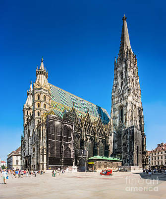 Photograph - St. Stephen's Cathedral by JR Photography