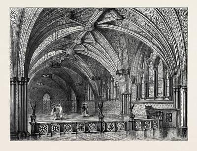 St. Stephens Crypt, Westminster, London Art Print