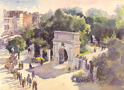 St Stephens Green Art Print