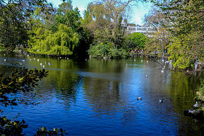 Photograph - St Stephens Green Park - Dublin by Marilyn Burton