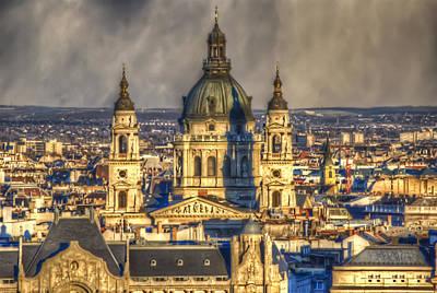 European City Digital Art - St Stephens by Nathan Wright