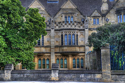 Photograph - St Swithuns Quad by Mick House