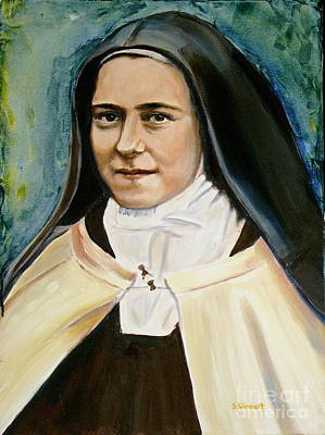 St. Therese Art Print by Sheila Diemert