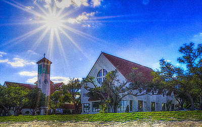 St Thomas Catholic Church Art Print