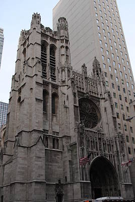 Photograph - St Thomas Church New York by Robert  Moss