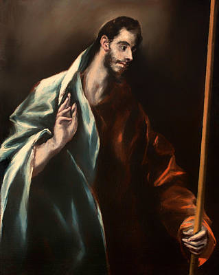 Staff Painting - St Thomas by Mountain Dreams