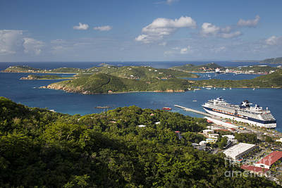 St Thomas View Print by Brian Jannsen