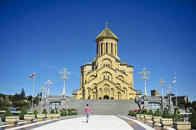 St. Trinity Cathedral In Tbilisi Original by Andrey Tovstyzhenko