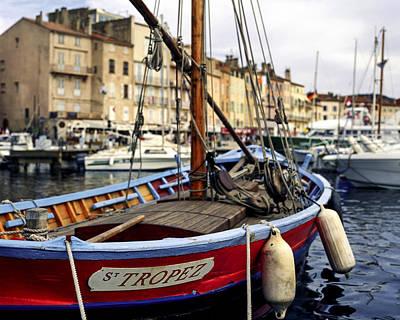 Photograph - St Tropez by Martin Longstaff