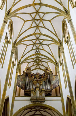 Photograph - St Ulric And Afra Organ by Jenny Setchell