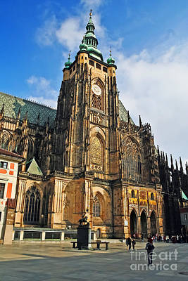 Photograph - St. Vitus Cathedral by Elvis Vaughn