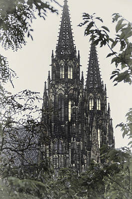 Photograph - St. Vitus Cathedral - Prague by Alan Toepfer