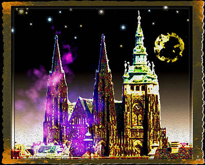 St. Vitus Cathedral Prague Original by Daniel Janda