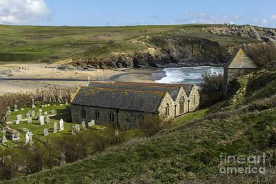 Photograph - St Winwaloe Gunwalloe by Brian Roscorla