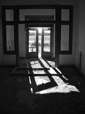 Photograph - St X School Doorway by Lance Wurst