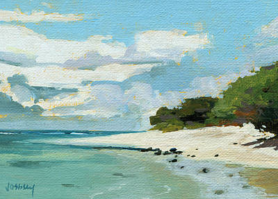 Haiku Wall Art - Painting - Stable Road Beach Maui by Stacy Vosberg