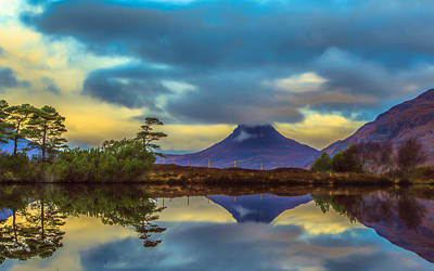 Stac Polly In The Scottish Highlands Art Print by Tylie Duff