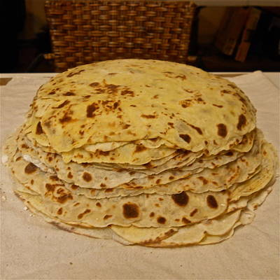 Photograph - Stack Of Lefse Rounds by Kent Lorentzen