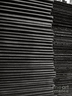 Photograph - Stacked Euphemistic-cardboard 2 by Fei A