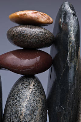Stacked Stones 5 Art Print by Steve Gadomski