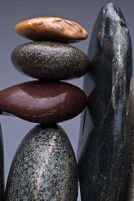 Stacked Stones 5 Print by Steve Gadomski