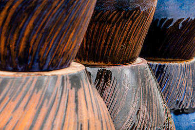 Photograph - Stacked Swirls by Melinda Ledsome