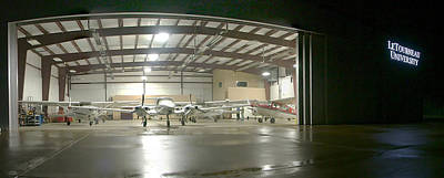 Photograph - Stacking The Hangar by Philip Rispin