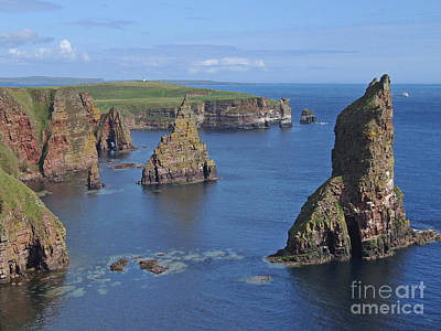 Photograph - Stacks Of Duncansby - Caithness by Phil Banks